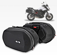 GIVI 3D600 Easylock Panniers and Saddle Bags