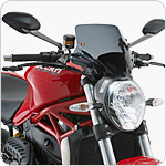 GIVI A7404 Windscreen for Ducati Monster 1200