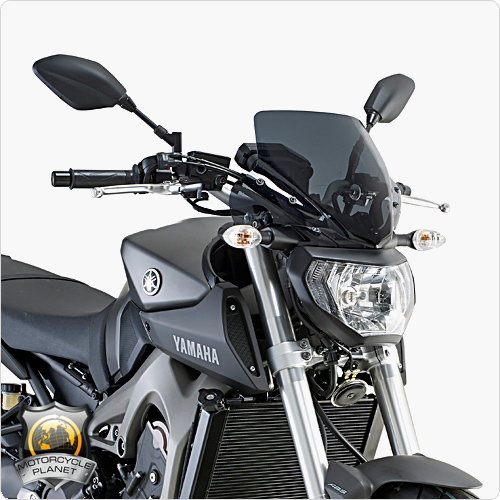 givi a2115 screen for yamaha mt 09 yamaha mt 09 13 16. Black Bedroom Furniture Sets. Home Design Ideas