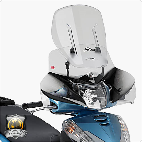 givi af1100 airflow screen for honda sh 300i honda sh. Black Bedroom Furniture Sets. Home Design Ideas