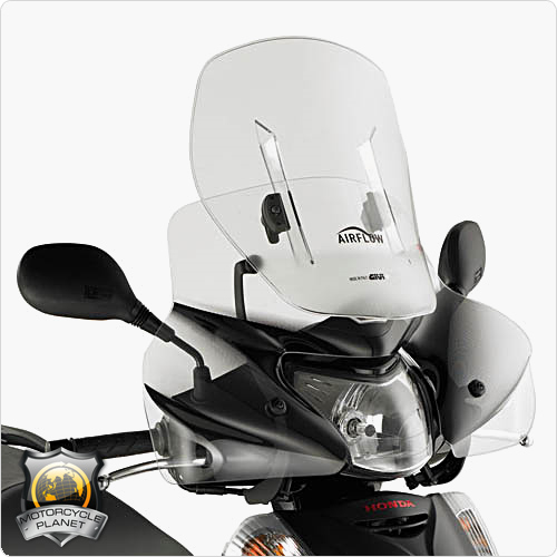 givi af308 airflow screen for honda sh 300i honda sh. Black Bedroom Furniture Sets. Home Design Ideas