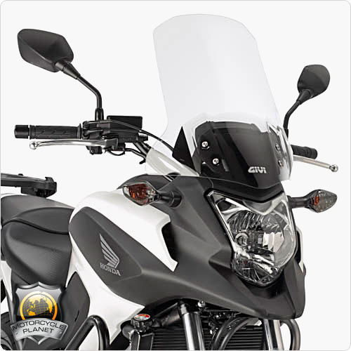 givi d1111st screen for honda nc 750x honda nc 750x 14. Black Bedroom Furniture Sets. Home Design Ideas