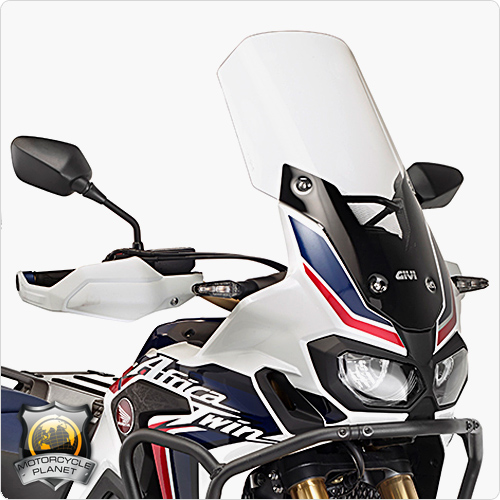 givi d1144st windshield for honda crf 1000l africa twin. Black Bedroom Furniture Sets. Home Design Ideas