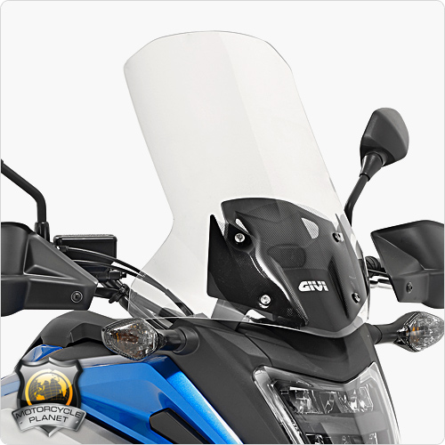 givi d1146st screen for honda nc 750x honda nc 750x 16. Black Bedroom Furniture Sets. Home Design Ideas