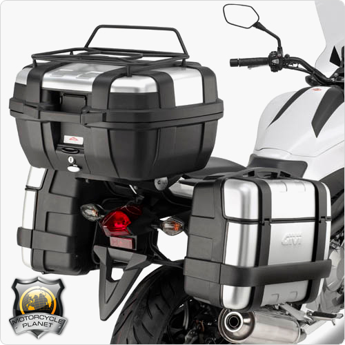 givi pl1111 pannier rack for honda nc 750x honda nc 750x. Black Bedroom Furniture Sets. Home Design Ideas