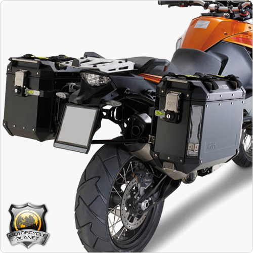 givi pl7700cam pannier rack for ktm adventure 950 - ktm adventure