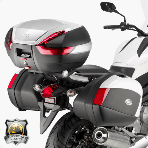 givi plx1111 pannier rack for honda nc 750x honda nc. Black Bedroom Furniture Sets. Home Design Ideas