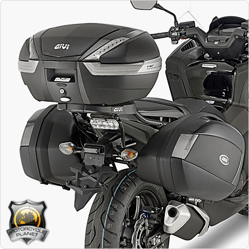 givi plx1150 pannier rack for honda integra 750 honda. Black Bedroom Furniture Sets. Home Design Ideas