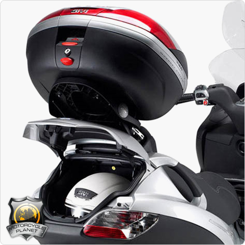 piaggio mp3 sport 500 (12-13) - givi luggage