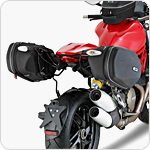 GIVI TE7404 Easylock Pannier Rack for Ducati Monster 1200