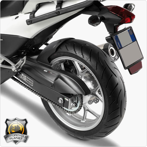 givi mg1109 mudguard for honda nc 750x honda nc 750x 16. Black Bedroom Furniture Sets. Home Design Ideas